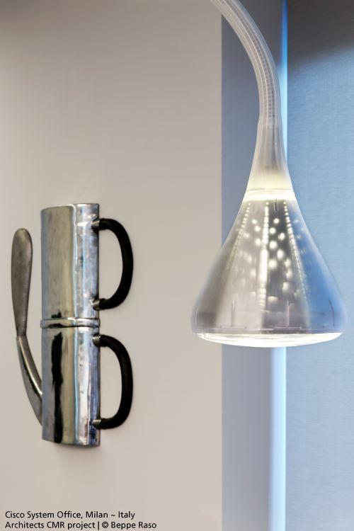 Focus on the #Pipe suspension #design Herzog & De Meuron