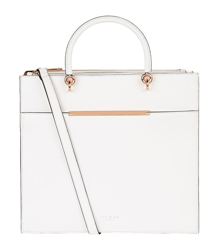 TED BAKER Maureen Leather Tote Bag. #tedbaker #bags #shoulder bags #hand bags #leather #tote #