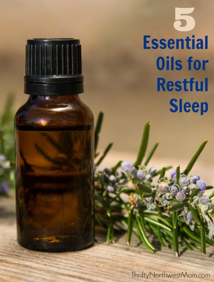 Essential Oils for Sleep - the 5 best essential oils for restful sleep