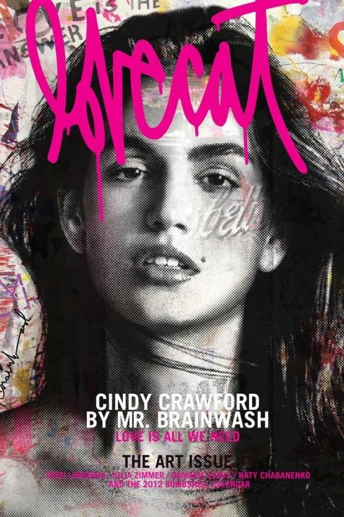 Cindy Crowford for Lovecat magazine