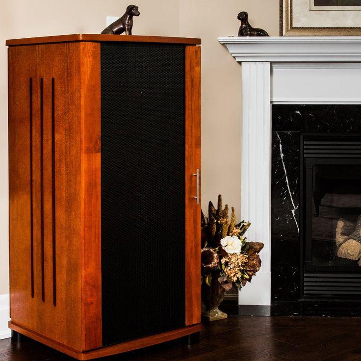 PLATEAU LSX-A 52 W Wood 52 in. Tall Audio Stand - Walnut - LSX-A 52 (W)