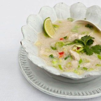 Comfort food with creamy coconut milk and zingy lime, ready in 30