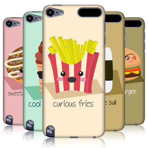 HEAD CASE DESIGNS FOOD MOOD HARD BACK CASE COVER FOR APPLE iPOD TOUCH 5G 5TH GEN