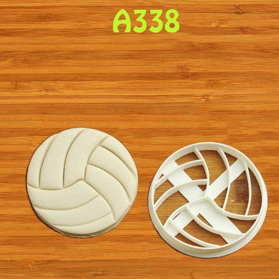 Volleyball Cookie Cutter not volleyball gifts door cookiecutter4p