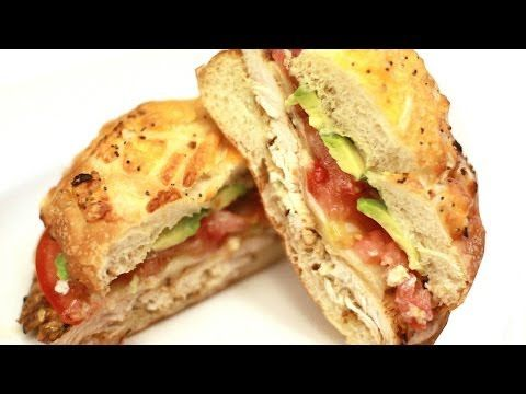 Chicken Club Sandwiches Recipe!! - How to Make Chicken Clubs - YouTube