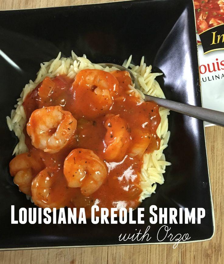 Louisiana Creole Shrimp with Orzo #PanwithaPlan #ImagineNation AD