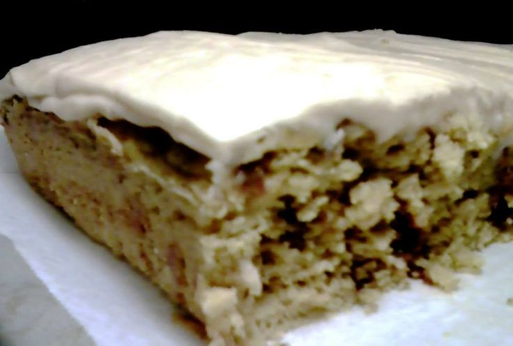 Pumpkin Cake with Caramel Cream Cheese Icing! Easy and Tasty!