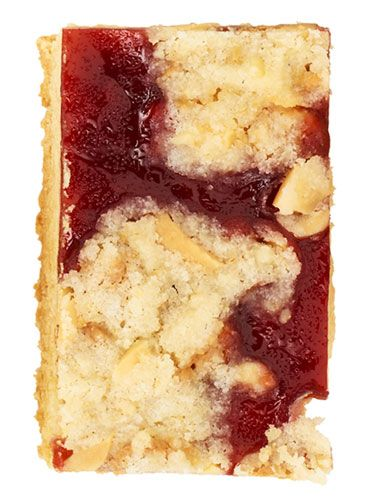 Peanut Butter and Jelly Cookie Bar: Delicious Desserts, Cookies Bar, Food Recipes, Jelly Cookies, Desserts Bar, Bar Recipes, Jelly Recipe, Jelly Bar, Peanut Butter