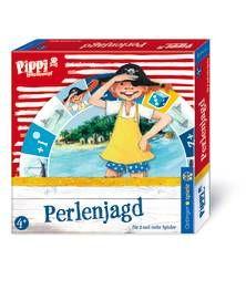 Pippi Langstrumpf: Perlenjagd. Die Jagd auf die Südsee-Perlen ist eröffnet. Für 2 und mehr Spieler ab 4 Jahren.