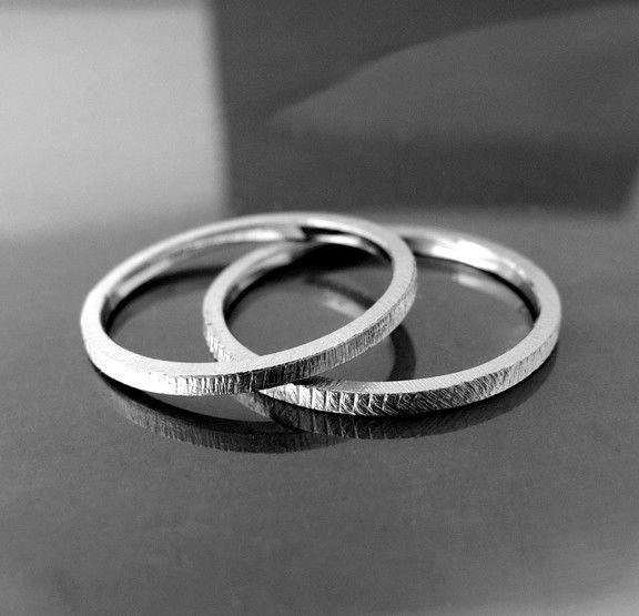BIZOE - obrączki ślubne z platyny Pt 0,950