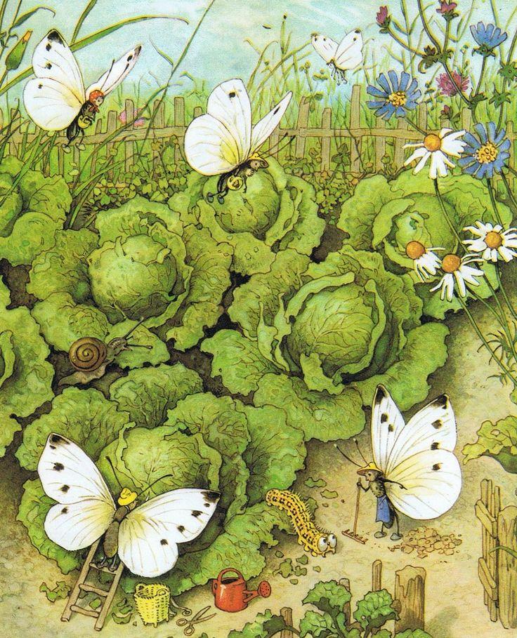 Interactieve praatplaat: Slakken rupsen en vlinders met informatieve filmpjes by Ingrid Heersink
