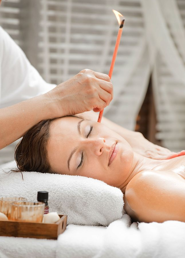 Ear Candling wonderful for tension headaches, sinus problems, blocked ears, tinnitus and a host of other conditions. A treatment includes a relaxing facial massage that stimulates lymph drainage.