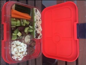Yumbox Lunchbox with bliss balls