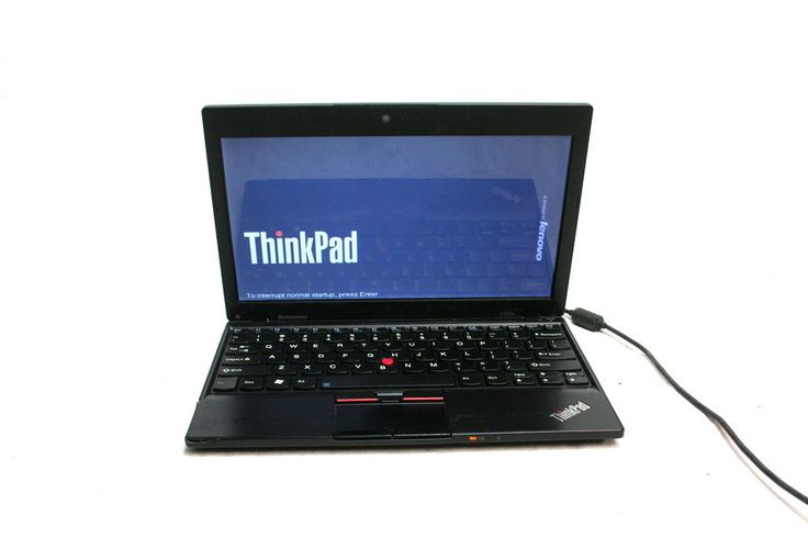 Lenovo Thinkpad X120E AMD E-350 1.6GHz 2GB RAM 80GB SSD Win7 Laptop