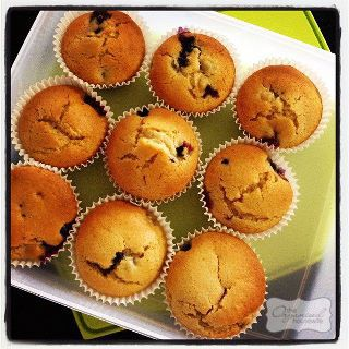 Blueberry Muffins - Freezer friendly | The Organised Housewife