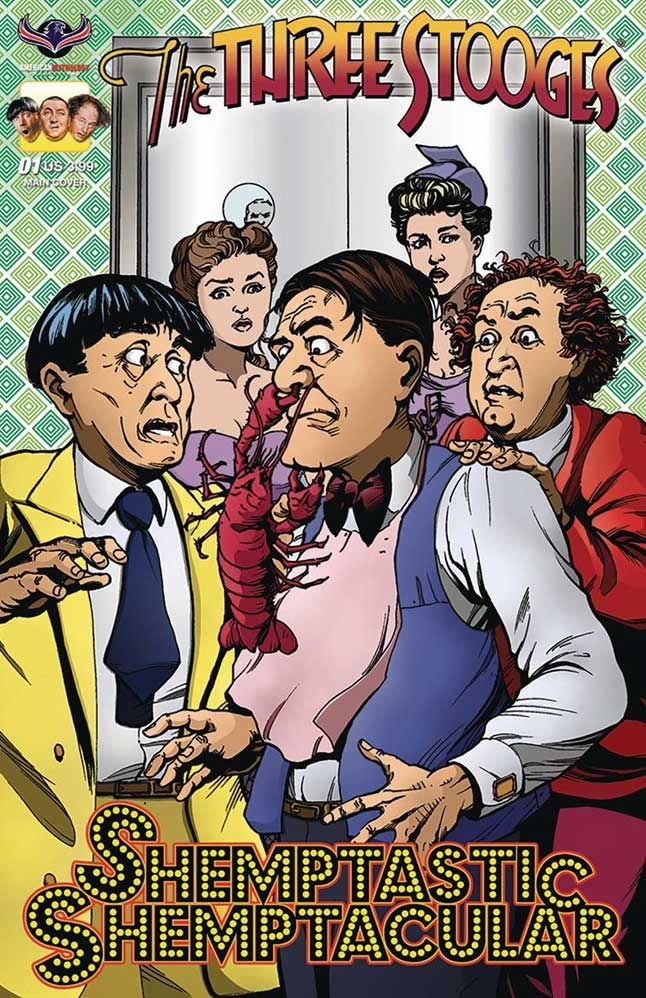 The Three Stooges - Shemp comic book available now! Hee-bee-bee-bee