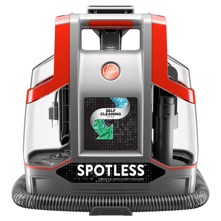 Hoover Spotless Portable Carpet & Upholstery Cleaner - FH11300, Red