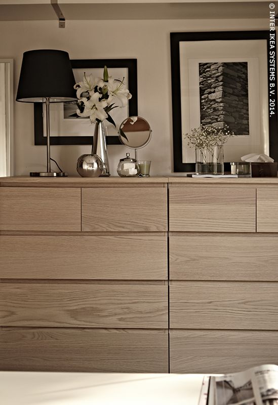 MALM chest IKEA Real wood veneer will make this chest of drawers age  gracefully. Best 25  Malm ideas on Pinterest   Ikea malm  Malm drawers and