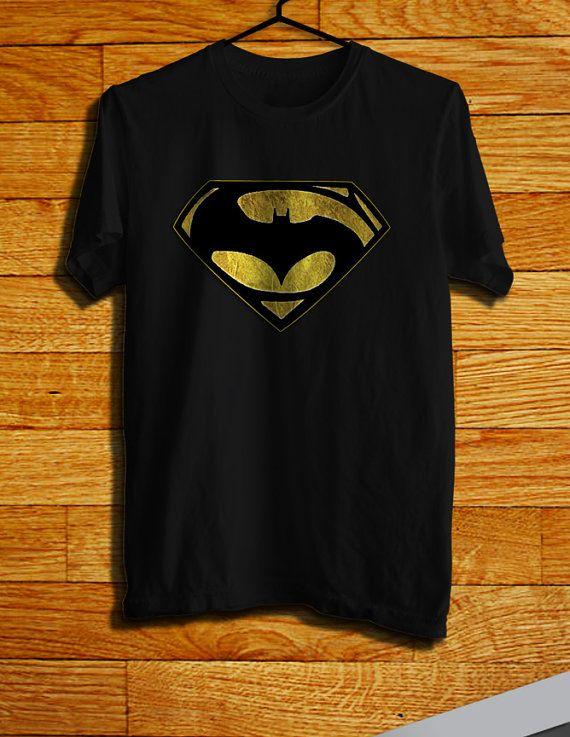 Batman Vs Superman Logo Men Tshirt Batman Tshirt By Chility 17 99 Batman Vs Superman Logo Batman T Shirt Batman Vs Superman