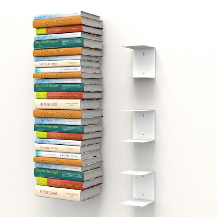 1000 ideen zu unsichtbares b cherregal auf pinterest. Black Bedroom Furniture Sets. Home Design Ideas