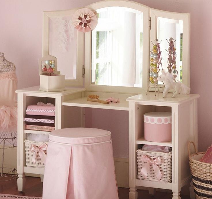 Madeline Play Vanity: Dresser For Girl, MADELINE Pottery Barn Kids
