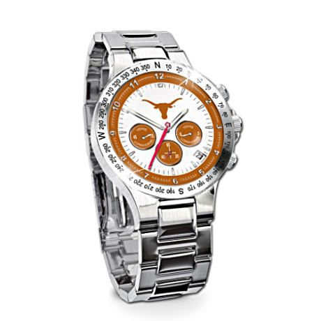 Texas Longhorns Commemorative Chronograph Watch