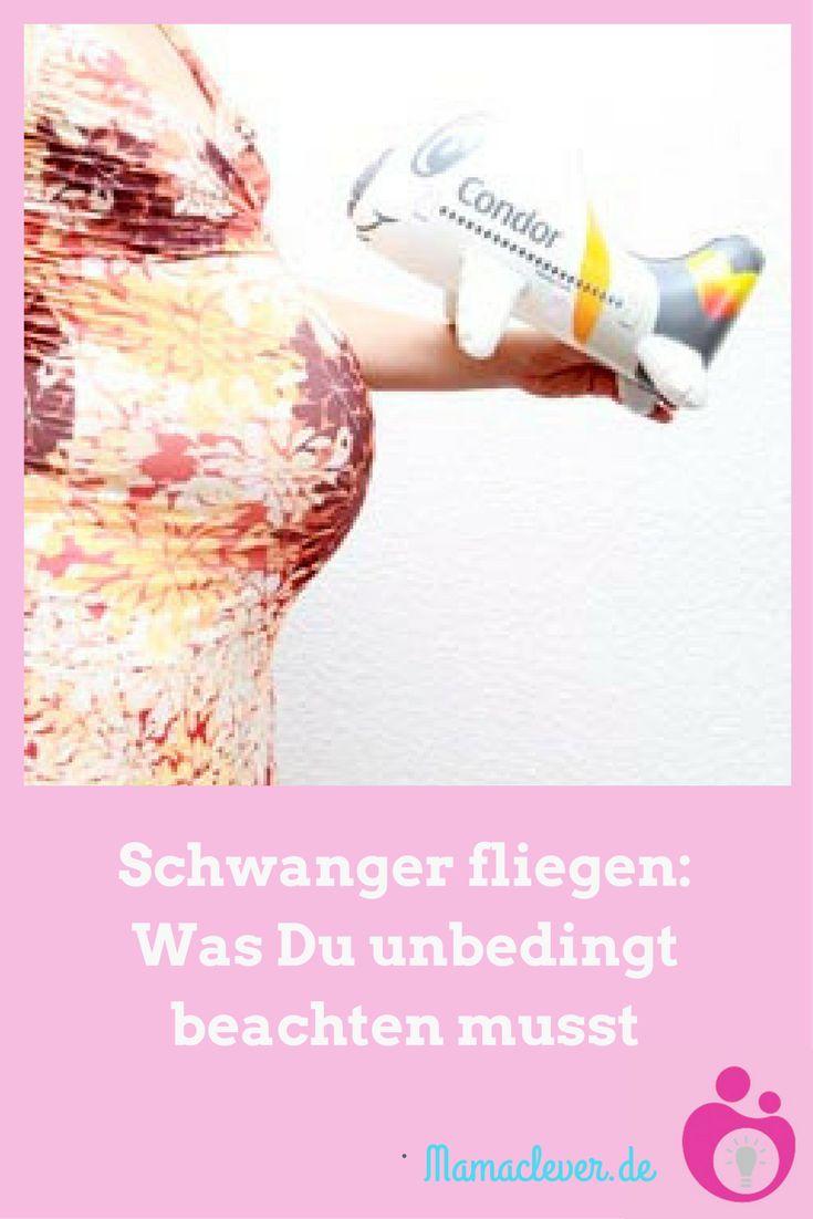 Manche Fluggesellschaft fordert bereits ab der 28. Schwangerschaftswoche ein Flugtauglichkeitsattest und kurz vor der Geburt nehmen viele Fluggesellschaften Schwangere nicht mehr mit. Alles, was Du wissen musst, wenn Du schwanger fliegen willst.