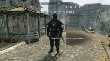 The Ebony Warrior - Skyrim Wiki Guide - IGN