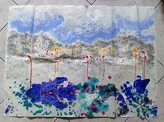 Ecco tre tecniche divertenti per pitturare e per fare dei laboratori divertenti per bambini: