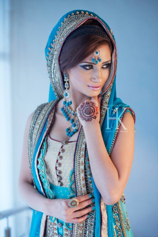 A A I N A - Bridal Beauty and Style: The Bride's Lookbook: Bridal Makeup from Hadiqa Kiani Signature Salon