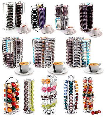 Porte capsules café tournant pour Tassimo, Dolce Gusto & Nespresso
