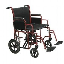 Drive Medical Bariatric Heavy Duty Transport Wheelchair with Swing Away Footrest 22 Inch Red at Walgreens. Get free shipping at $35 and view promotions and reviews for Drive Medical Bariatric Heavy Duty Transport Wheelchair with Swing Away Footrest 22 Inch Red