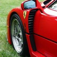Ferrari F40 Left Flank