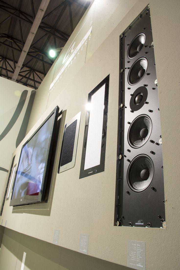 Garvan In-wall Speakers - Home theatre solutions _ ISE 2014