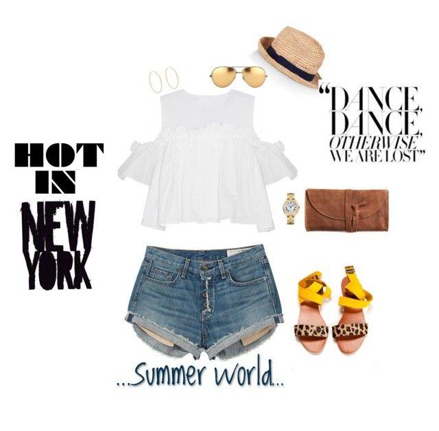 """New York Heatwave"" by jenily ❤ liked on Polyvore featuring мода, rag & bone, Nikko, Anja, Monsoon, Linda Farrow, Emili и Loren Stewart"