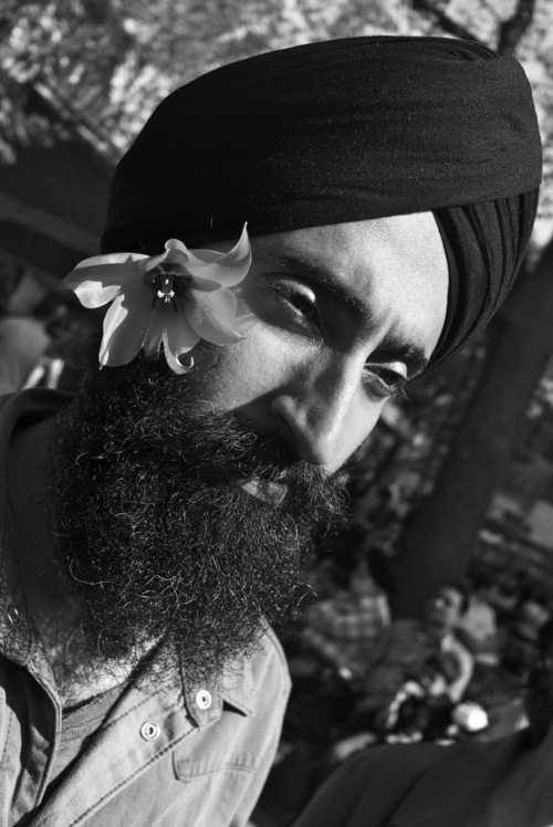 WARIS AHLUWALIA AT THE ANNUAL SIKH PARADE IN NEW YORK LAST SATURDAY - WEARING JEANS SHIRT 5.