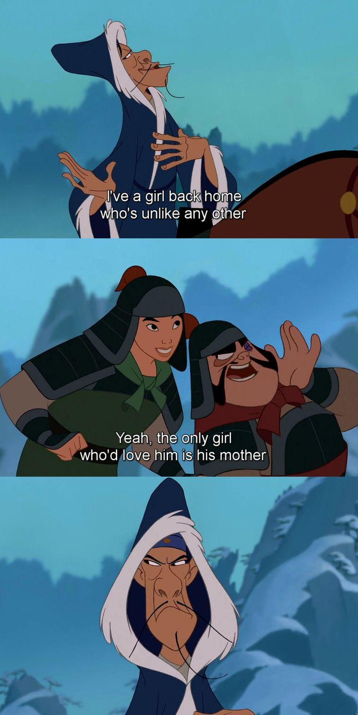 Chi-Fu, Fa Mulan & Yao