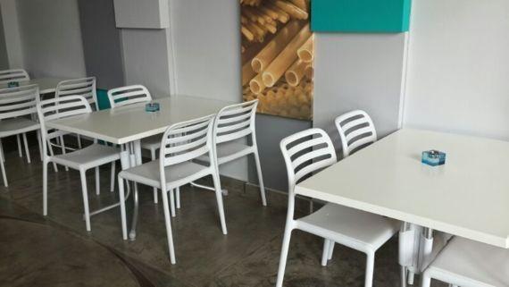 Costa Chair Side - White - Nardi