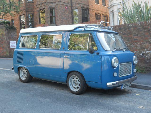 1976 Fiat 900 camper by barrogance, via Flickr