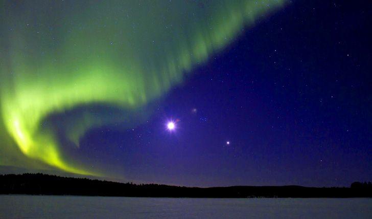 Northern Lights in Swedish Lapland, Luleå
