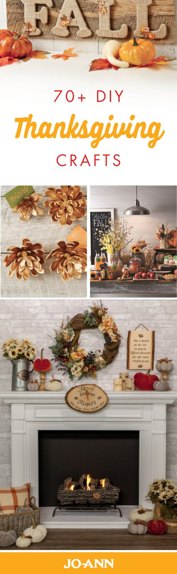 Diy thanksgiving wall decor - This Collection Of 70 Diy Thanksgiving Crafts Is The Perfect Excuse To Spruce Up Your