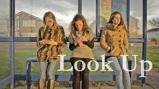 "Look Up, by Gary Turk. While a number of social media users suffer from FOMO ""Fear of missing out,"" this video describes what is really at stake when we can't put down our technology."