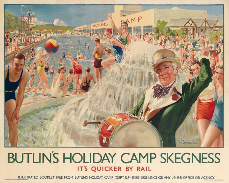 Vintage seaside posters