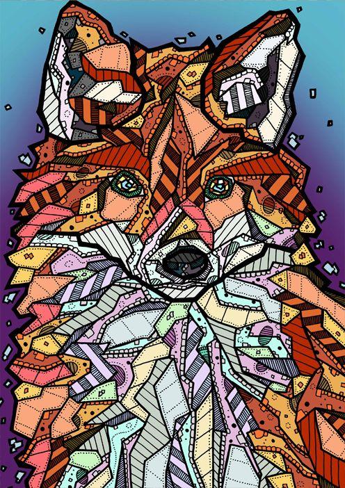 Fox Illustration by Kelly Blake