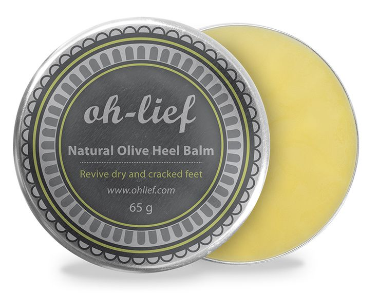 Natural Olive Heel Balm - Olive and avocado oils form this heavenly balm that is ideal for dry, cracked and tired feet. Rich in vitamins A and D, lecithin, potassium as well as vitamin E to protect, nourish and soften. Lime oil provides a refreshing fresh scent, and tea tree oil is known for its anti-bacterial properties.