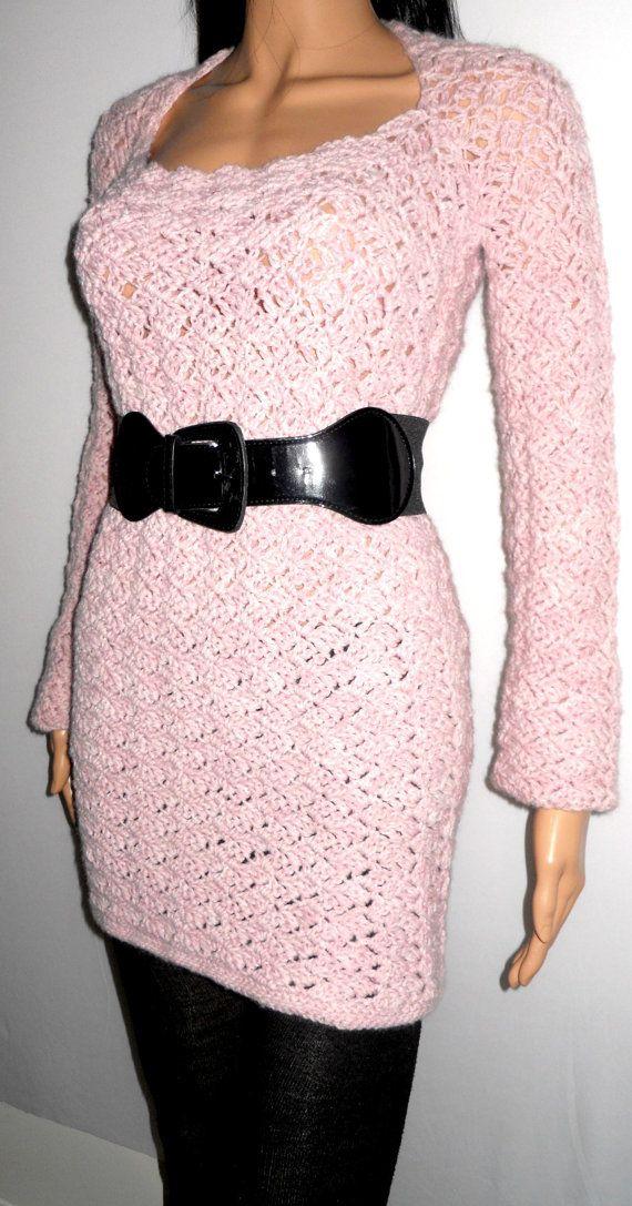 Instant Digital Download Pattern - Crochet Sweater Pattern - Lace Shrug Sweater - Plus Size Clothing - PDF Pattern