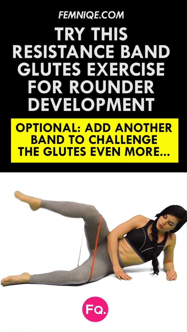 "4 ""Not Boring"" Butt Exercises With Resistance Bands – Anna Teutscher"