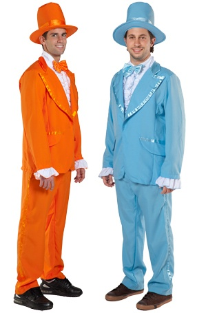 Harry and Lloyd Dumb and Dumber Costumes Hahahaha