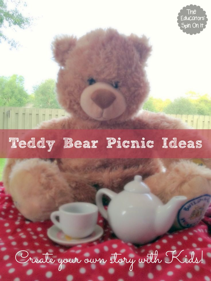 Teddy Bear Picnic Fun with Story Writing. A fun way to encourage writing this summer with kids