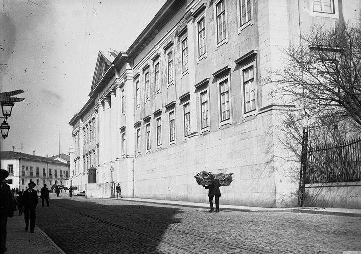 Escola Politécnica de Lisboa, foto de Augusto Bobone, in a.f. C.M.L.